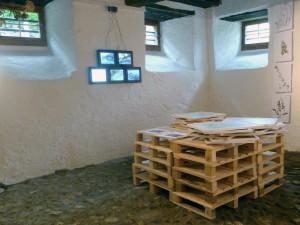 Detailansicht einer Installation