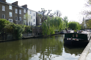 regents canal spaziergang london